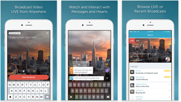 Periscope Launches Exclusive Android App