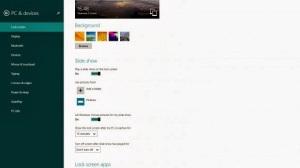Lock Screen Slideshows