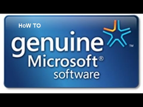 How to make Windows Genuine