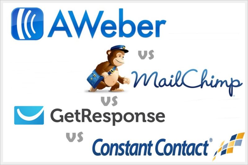 Comparison-Between-the-best-Email-Marketing-Platform-GetResponse-Vs-MailChimp-Vs-Aweber-Vs-Constant-Contact.-Email Marketing tool