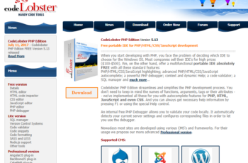 codelobster software review