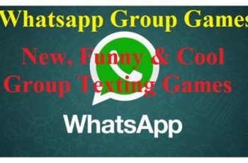 Cool and funny WhatsApp Texting Games