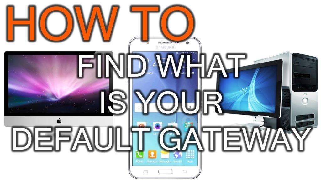 How To Find Your Default Gateway IP Address