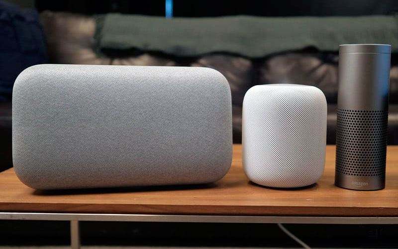 apple homepo vs sonos vs echo